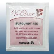 Home Brew & Wine Making - VinClasse® Wine Yeast - Burgundy Red - 5 Gramme Sachet