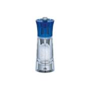 TopGourmet Cilio Genova Salt Mill Acrylic Clear Blue 14 cm