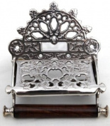 Decorative vintage style toilet roll holder