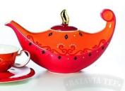 "CHA CULT - Teapot ""Nandina"" ORIENTAL Teapot"
