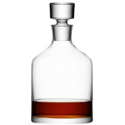 LSA Bar Spirit Decanter (63.4oz / 1.8ltr) | LSA Handmade Glass Decanter | Whisky Decanter, Hand Made by LSA Glass