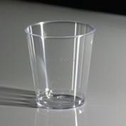 3cl Disposable Plastic Shot Glasses - Line at 2cl