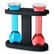 Mini Yard Glasses with Stand | 50ml Shot Glasses, Novelty Shot Glasses
