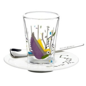 Ritzenhoff Bacino Espresso Glass Design by Pietro Chiera