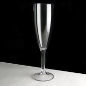 Virtually Unbreakable Polycarbonate Plastic Champagne Glass