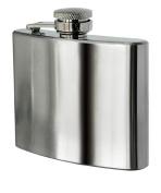 Premier Housewares Hip Flask, 150ml, Stainless Steel
