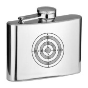 4 oz On Target! Hip Flask - in Gift Box