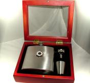 Queens Park Rangers (QPR) Football Club 180ml Hip Flask Gift Set