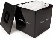 Andrew James 3 Litre Square Ice Bucket Ideal for Cocktails, Party's, Bars and Pubs