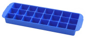 Metaltex Rubber Ice cube tray (24 cubes), Blue