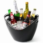 Bar Craft Black Acrylic Drinks Pail / Cooler