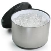 10 Litre Plastic Ice Bucket Brushed Aluminium Effect | Ice Cube Bucket, Large Ice Bucket, Party Ice Bucket