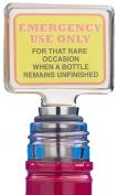 Boxer Emergency Use Only Novelty Wine Stopper