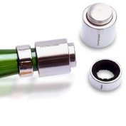 Pulltex Champagne Stopper & Drip Collar, Keep Fresh Security Kit.