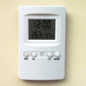 Thermo-Hygro Metre with Clock