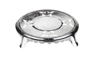 Tea Pot Stand Silver Plated