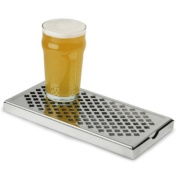 Rectangular Stainless Steel Drip Tray 305 x 152mm | Back Bar Stainless Steel Drip Tray, Barware Drip Tray, Metal Drip Tray