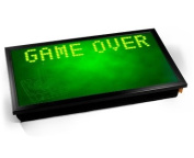 GAME OVER Computer Laptop Tray