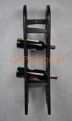 New real wood wine rack / cabinet, 7 bottles Rook 7 hanging, kitchen / bar