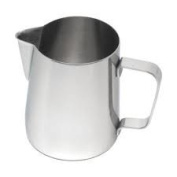 2 Litre conical frothing milk jug for lattes and cappuccinos