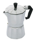 APOLLO 5689 - 3 CUP(175ML) COFFEE MAKER in Silver