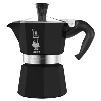 Bialetti Moka Express 6 Cup Espresso Maker Black Lacquer