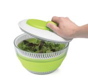 Small Collapsible Salad Spinner - half the size without compromising on features