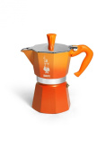 Bialetti - 0003222 - Italian Cafetire 3 Cups Moka Colour Orange