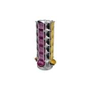 Capstores Tavolaswiss 50.48574 Rotating 24 Dolce Gusto Capsule Distributor Chrome Steel