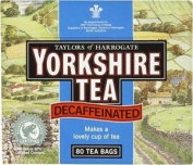 Yorkshire Decaffeinated Tea Bags 80s 250g