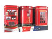 "English Teas, ""Mini Caddy Gift Set- City of London"", Traditional English Teas in Mini Caddies - 1063"