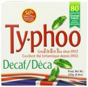 Typhoo 80 Decaf Tea Teabags