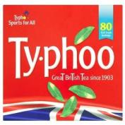 Typhoo 80 Teabags 250g - Pack of 6
