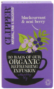 Clipper Organic Infusion Blackcurrant and Acai Berry 20 Teabags