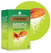 Twinings Green Tea Peach & Cherry 20bag - CLF-TWN-F09935
