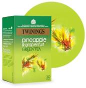 Twinings Green Tea Pineapple Grapefruit 20bag - CLF-TWN-F08054