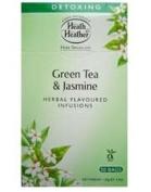 Heath And Heather Green Tea & Jasmine Herbal Tea 50 Bags