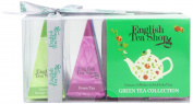 English Tea Shop Green Tea Collection 12 Pyramid Tea Bags Gift