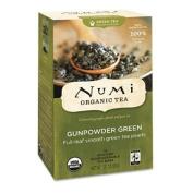 Numi Tea, Gunpowder Green Organic Tea, 18 Full Leaf Tea Bags, 40ml