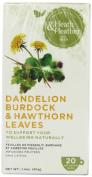 Heath and Heather Dandelion, Burdock and Hawthorn Leaves 20 Teabags