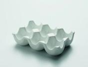 Maxwel and Williams White Basics Porcelain 6 Egg Holder