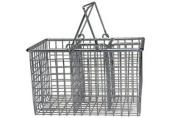 Chrome Cutlery Basket