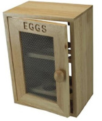 RubberWood Egg Cabinet Mesh Front