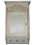 Wooden Key Cabinet Retro Style 19.5cmx5cmx35.5cm Decoupage Art Craft