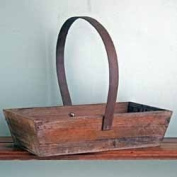 """Antique"" French Style Wooden Trug"
