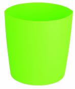 Spirella Lemon Opaque Waste Bin Polypropylen Green Height 25 cm x Width 24 cm