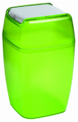 Spirella Planet Waste Bin Polystyrol Green Height 33 cm x Width 20 cm