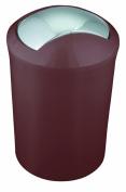 Spirella Savanna Marron Waste Basket HIPS Matt Brown 23 cm x 19 cm