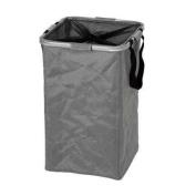 Möve 40810829 Laundry Basket Alloy Flex Silver