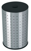 Hailo Comfort 43 0744-221 Laundry Bin Stainless Steel / Black